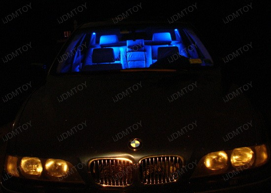 BMW - E39 - 525i - LED - car - interior - lights - 6